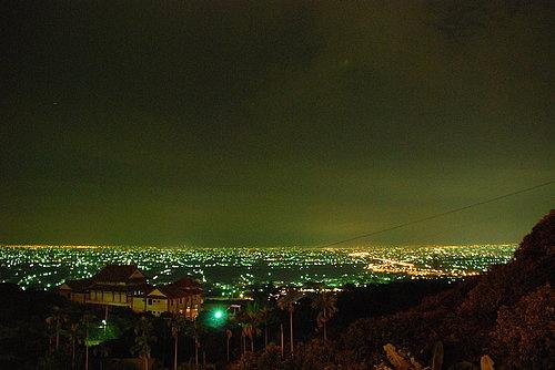 夜光高鐵景觀餐廳-夜景