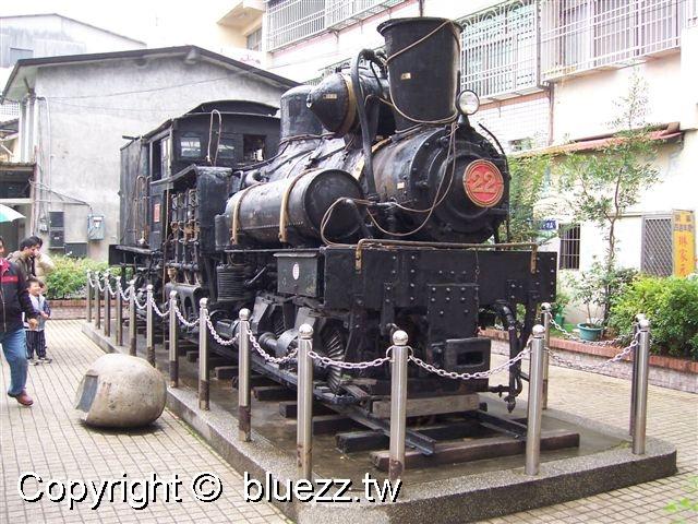 集集火車站SL22蒸氣火車