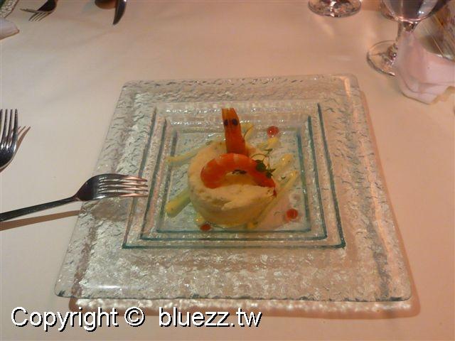 西堤牛排館沙拉-鮮蝦洋芋沙拉