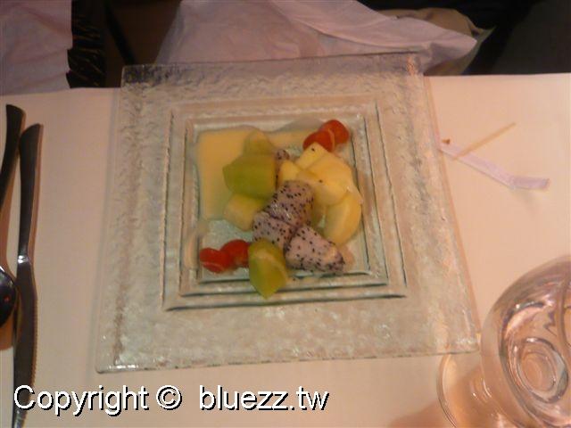 西堤牛排館沙拉-時鮮水果沙拉