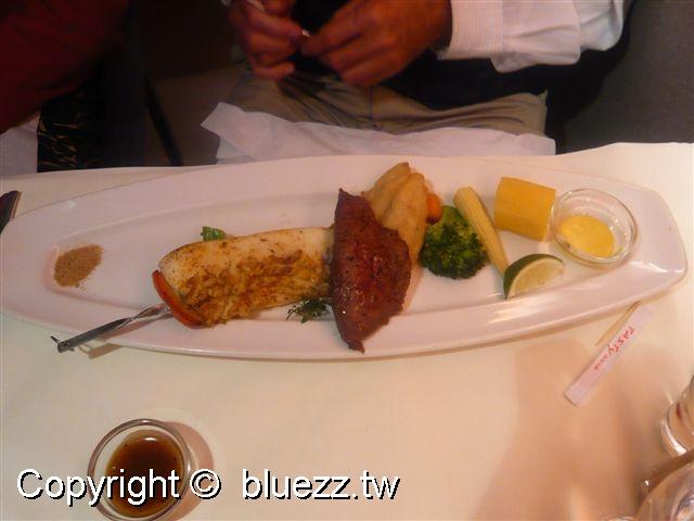 西堤牛排館主餐-西西里海陸雙拼
