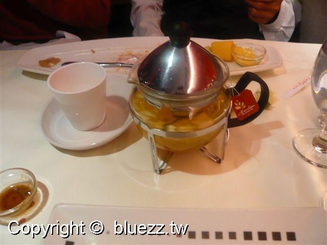 西堤牛排館飲料-熱水果茶