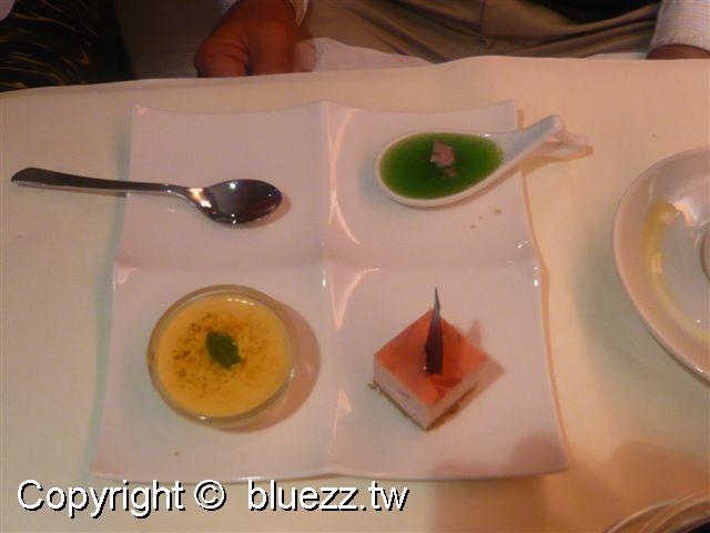 西堤牛排館甜點-法式三風味