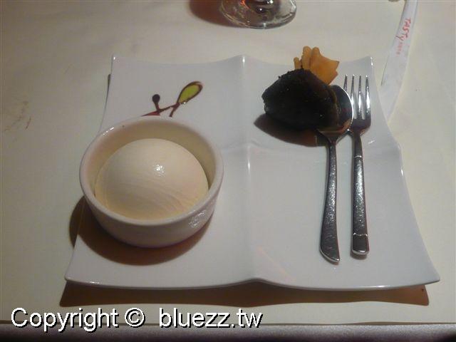 西堤牛排館甜點-巧克力袋冰淇淋