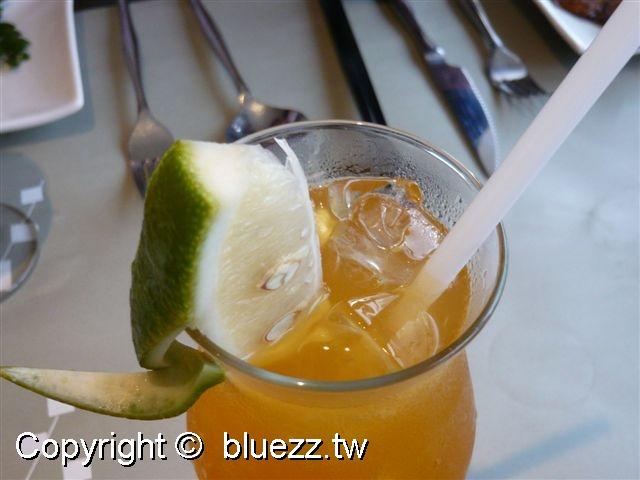陶板屋水果冰茶