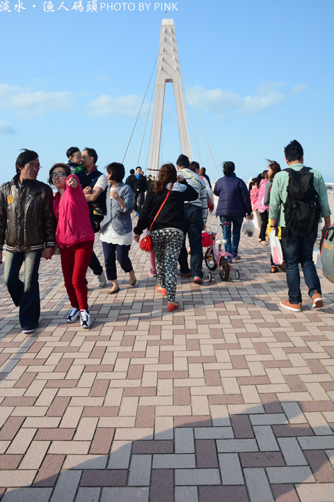 【台北景點】淡水漁人碼頭-慢步情人橋賞淡水美景,超浪漫!