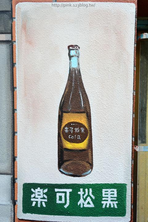 台中沙鹿「美仁里彩繪巷」,全台首創屬於台灣味的復古彩繪。-DSC_1197.jpg