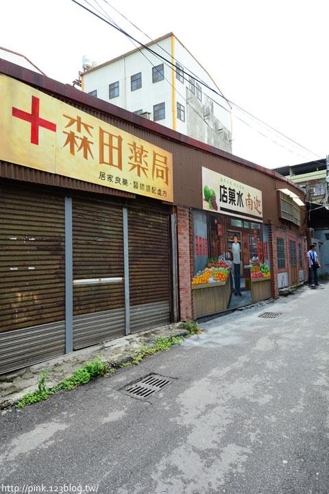 台中沙鹿「美仁里彩繪巷」,全台首創屬於台灣味的復古彩繪。-DSC_1235.jpg