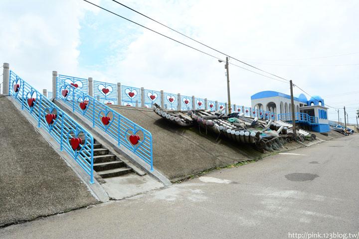 台中龍井「麗水漁港」藍白希臘風情觀景台,超浪漫!-DSC_1326.jpg