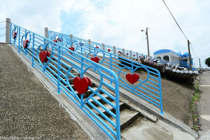 台中龍井「麗水漁港」藍白希臘風情觀景台,超浪漫!-DSC_1331.jpg