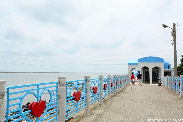 台中龍井「麗水漁港」藍白希臘風情觀景台,超浪漫!-DSC_1341.jpg