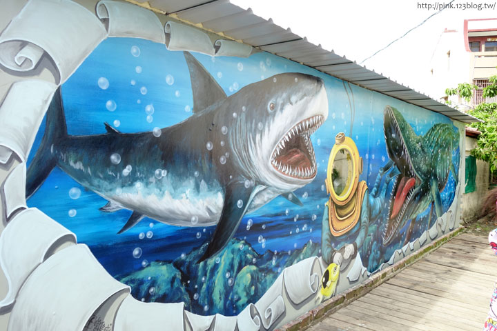 【布袋景點】好美里3D立體海洋彩繪世界,嚇!超大鯊魚遊過來啦!-DSC01941.jpg