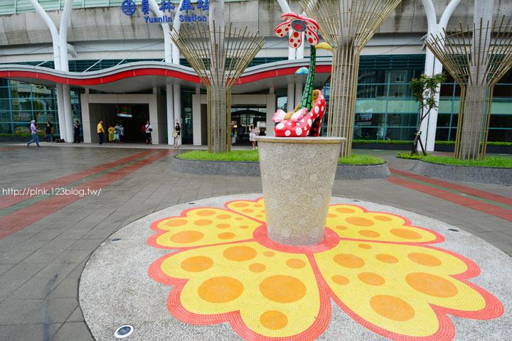 驚見草間彌生高跟鞋,就在彰化新員林火車站!-DSC_5243.jpg