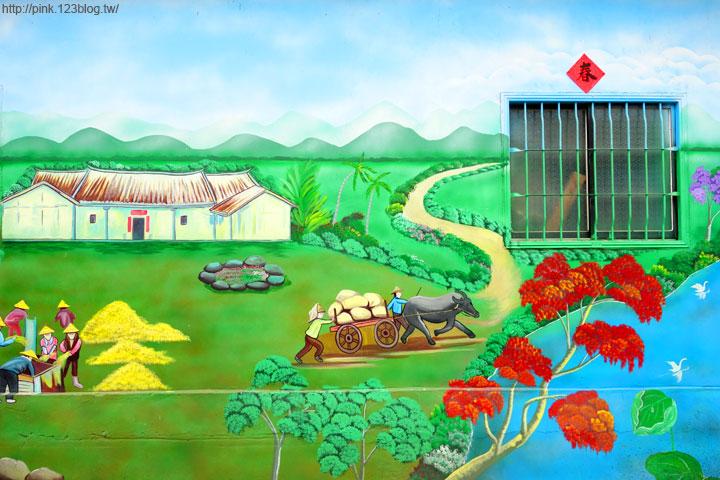 【芬園景點】寶山社區立體農村彩繪巷。沒想到我家也是彩繪村!-DSC00521.jpg