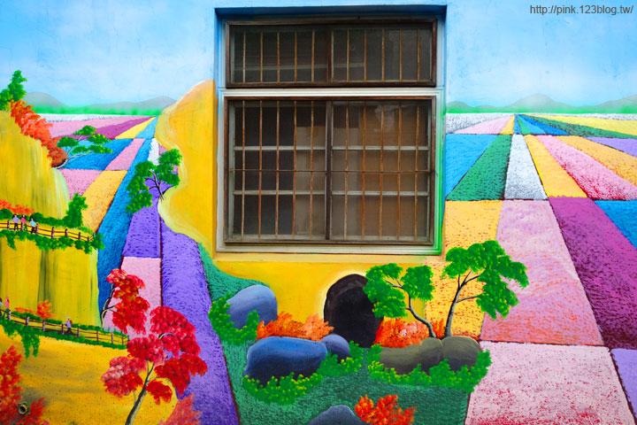 【芬園景點】寶山社區立體農村彩繪巷。沒想到我家也是彩繪村!-DSC00542.jpg