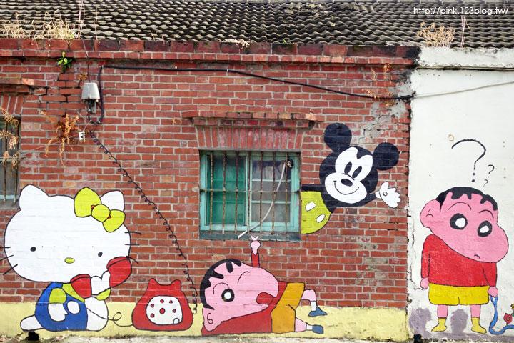 【彰化福興景點】三和社區西瓜彩繪村。每一個卡通人物,都是西瓜的代言人,超萌!-DSC02326.jpg