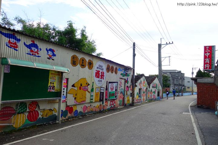 【彰化福興景點】三和社區西瓜彩繪村。每一個卡通人物,都是西瓜的代言人,超萌!-DSC02334.jpg