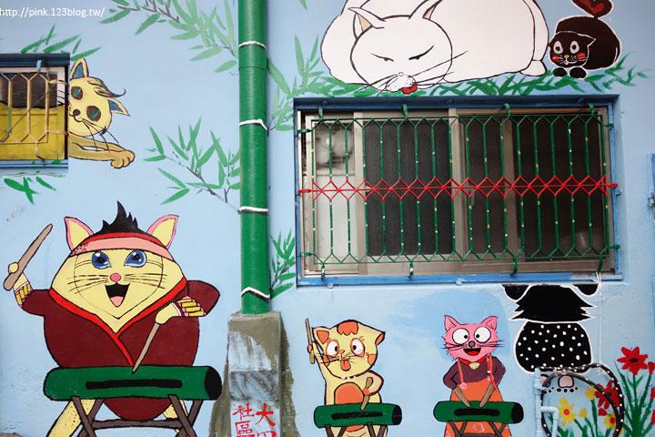 【高雄甲仙】甲仙貓巷。彩繪貓咪+傘傘動人,整個巷子繽紛又吸睛!-DSC07620.jpg