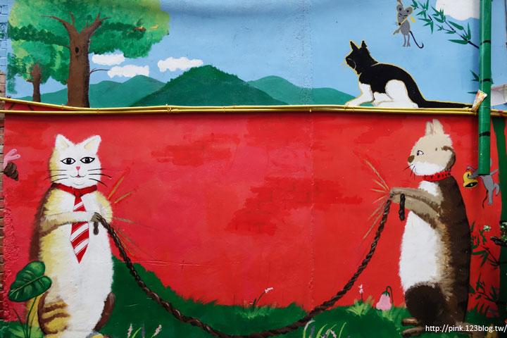 【高雄甲仙】甲仙貓巷。彩繪貓咪+傘傘動人,整個巷子繽紛又吸睛!-DSC07624.jpg