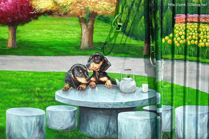 【彰化新景點】忠權社區彩繪巷。3D立體狗彩繪,超萌上鏡!-DSC08298.jpg