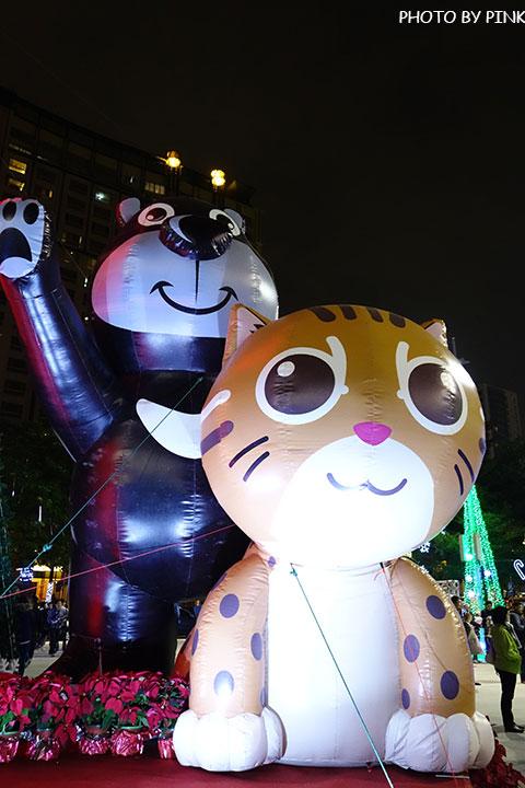 【台中耶誕YA】台中市政府耶誕嘉年華活動,多項遊樂設施讓你玩的過癮!-DSC01601.jpg