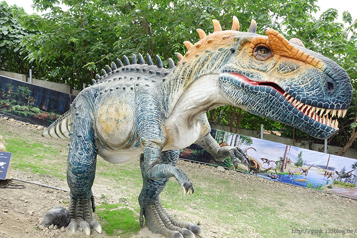 【員林新景點】百果山探索樂園。天啊,我是到侏羅紀公園了嗎?-DSC01992.jpg