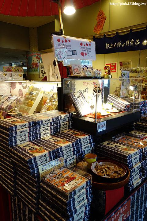 【日本北陸】郡上八幡老街散策趣。舞城、食品模型,很有風格的小鎮!-DSC00239.jpg