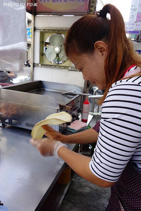 【彰化員林美食】香蕉煎餅.泰式奶茶。濃濃的異國風味小吃,沙哇滴卡~-DSC01162.jpg