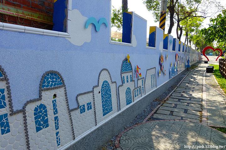 【彰化大村】地中海風格之雙心步道。遊走步道甜蜜滿分!(雙心池塘旁)-DSC04344.jpg