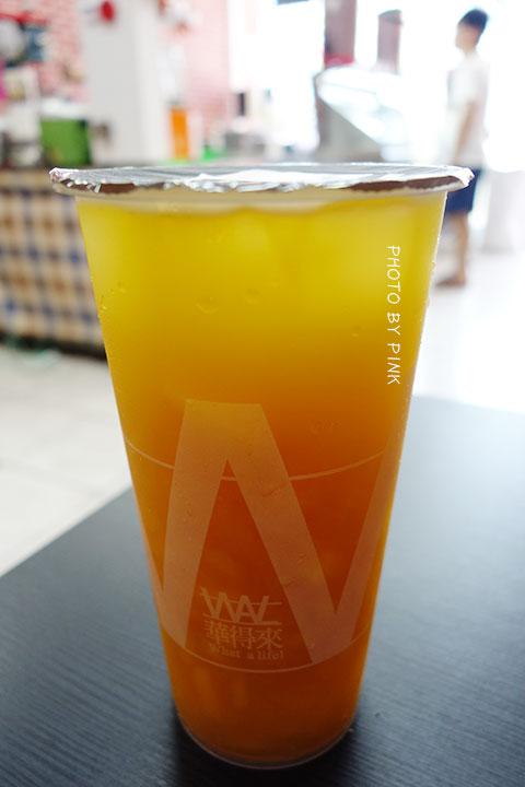 【台中清水飲料店】華得來(WAL)飲料專賣店。必點芒果綠茶,喝的到整顆芒果果肉,新鮮看的見!-DSC01380.jpg