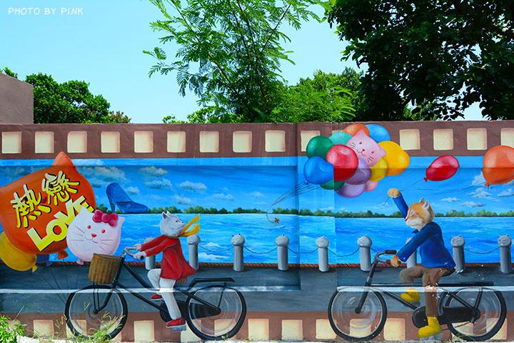 【嘉義布袋景點】布新國小貓咪彩繪牆。讓我們一起見證喵星人的愛情故事!(就在高跟鞋教堂旁)-DSC_1671.jpg