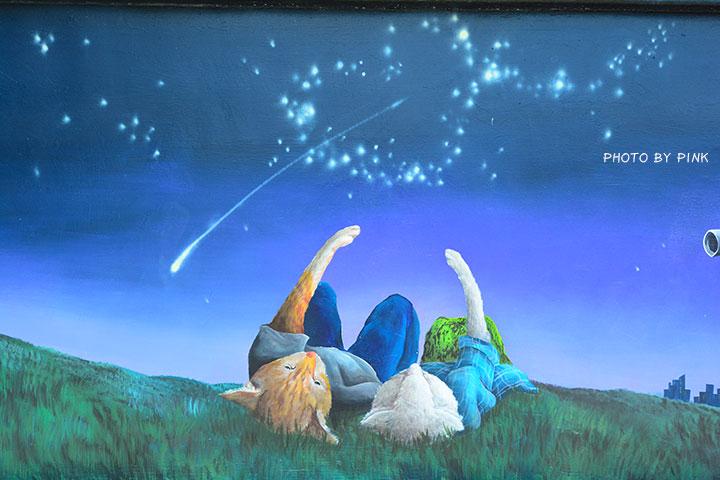 【嘉義布袋景點】布新國小貓咪彩繪牆。讓我們一起見證喵星人的愛情故事!(就在高跟鞋教堂旁)-DSC_1681.jpg