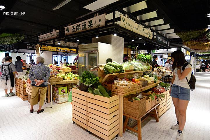 【台中西區】第六市場。第一間開在百貨公司的菜市場,買菜不流汗,也太幸福了!-DSC_3347.jpg