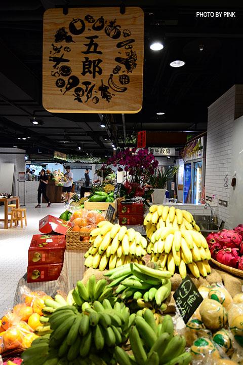 【台中西區】第六市場。第一間開在百貨公司的菜市場,買菜不流汗,也太幸福了!-DSC_3353.jpg