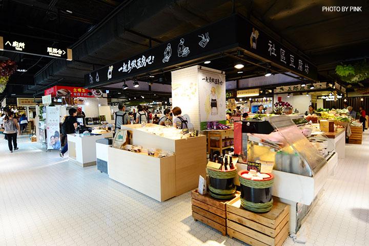 【台中西區】第六市場。第一間開在百貨公司的菜市場,買菜不流汗,也太幸福了!-DSC_3362.jpg