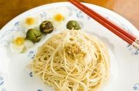 傳統茶農料理~茶籽油麵線