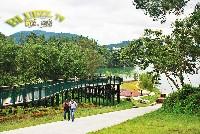 日月潭自行車道與向山遊客中心