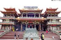 屏東福安宮、廟前草仔粿、黃家綠豆蒜