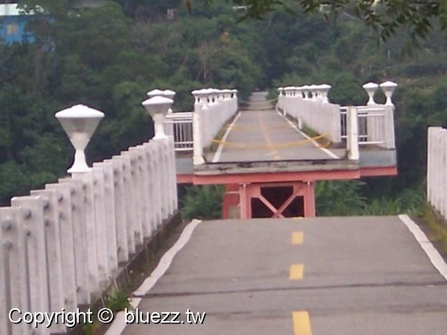 后豐鐵馬道花樑鋼橋舊山線曾因颱風而斷