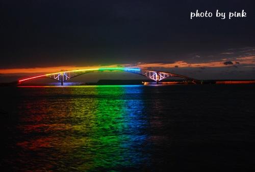 澎湖彩虹橋-美麗的七彩霓虹