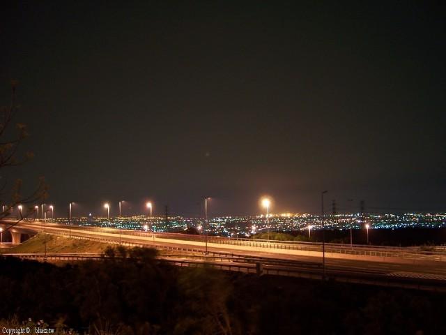 清水休息站-夜景