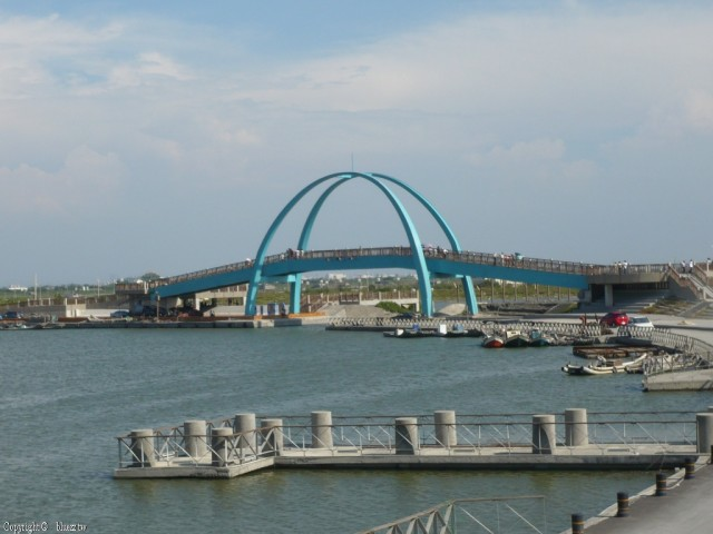 王功漁港-漁火