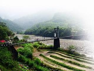 內灣垂釣處 油羅溪谷