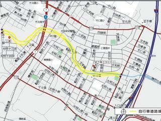 竹北市-豆子埔溪自行車路線