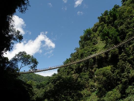 竹山天梯(梯子吊橋)