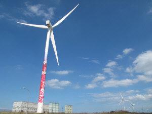 觀音彩繪風車