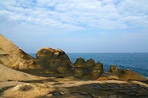 鯉魚石地質奇景