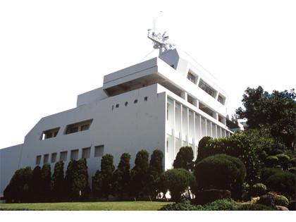 淡江大學海事博物館正面