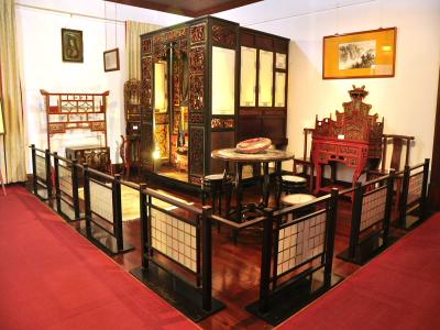 古代大戶人家的房間組