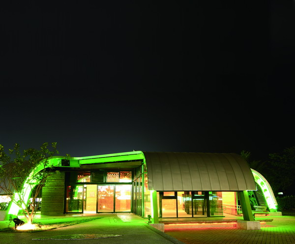 柚子藝術館夜景